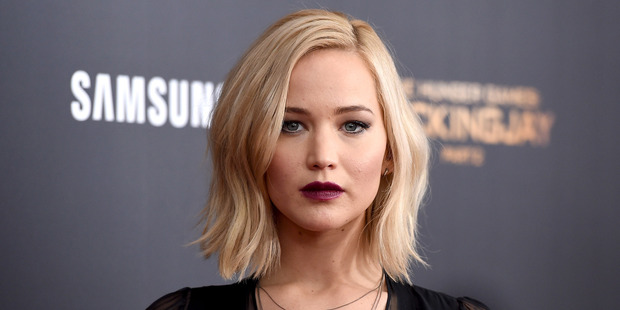 Video footage of Jennifer Lawrence dancing on a pole in a strip club surfaced online this week. Photo / Getty