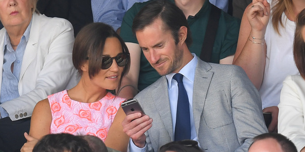 Pippa and James will allow guests to bring phones, but no photos will be allowed. Photo / Getty