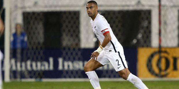 Winston Reid playing for the All Whites. Photo / Getty