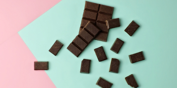 Dark chocolate is high in antioxidants. Photo / Getty
