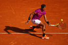 Rafael Nadal plays a forehand during the Monte Carlo Rolex Masters. Photo / Getty Images