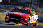 Fabian Coulthard during practice for the Perth SuperSprint. Photo / Getty Images