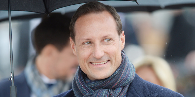 Crown Prince Haakon of Norway attends a luncheon on the Royal yacht Norge. Photo / Getty