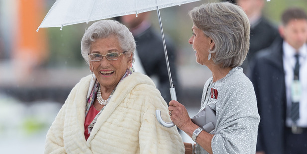 Princess Astrid of Norway arrives at the Opera House. Photo / Getty