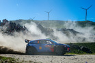 Hayden Paddon during Rally Portugal. Photo / Getty Images