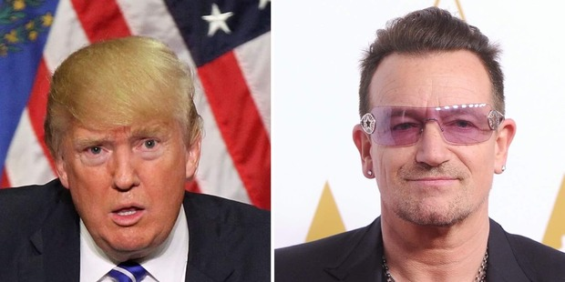 With or Without You: Bono bans Donald Trump from tour