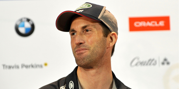 Land Rover BAR skipper Sir Ben Ainslie has copped a furious backlash from fans for causing yesterday's crash during practice racing. Photo/PHOTOSPORT
