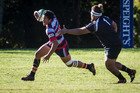 Rotoiti player Te Ra Whata in action against Rangataua at Emery Park on Saturday. Photo/Stephen Parker