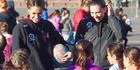 View: Magic children's netball coaching session