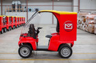 New Zealand Post's new electric delivery vehicles. Photo/Supplied