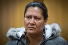 Donna Catherine Parangi appears in the High Court at Rotorua facing a manslaughter charge over the death of an eight-month-old. Photo/Stephen Parker