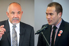 Te Ururoa Flavell and Tamati Coffey are engaging in challenges on Facebook. Photo/file