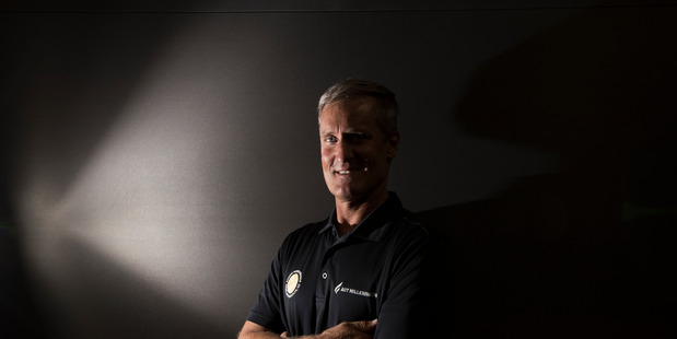 Loading Professor Mark Orams, former Team New Zealand member and our new America's Cup analyst. Photo / Brett Phibbs