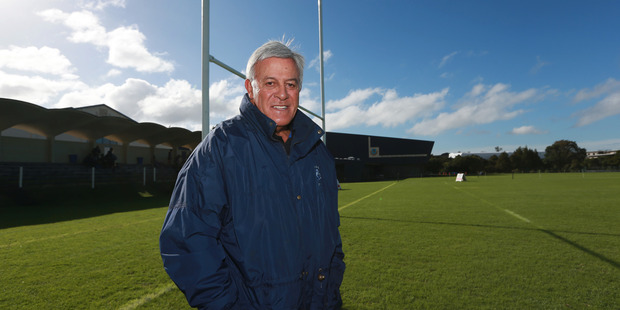 Loading Former All Black Bryan Williams is having a rugby field at Mount Albert Grammar School named in his honour. Photo / Doug Sherring