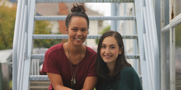Rotorua women Cian Elyse White (left) and Turene Jones are getting ready to bring their plays to the stage.