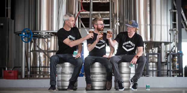 Three men have set up a new neighbourhood brewery in Kingsland called Urbanaut. Photo / Jason Oxenham