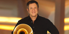 Stefan Dohr, principal horn of the Berlin Philharmonic Orchestra.