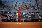 Maria Sharapova will not be able to continue her clay court season at the French Open. Photo / AP