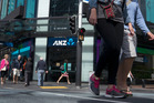 ANZ Group's share price closed down 1.3 per cent today at $31.10. Photo / Steven McNicholl