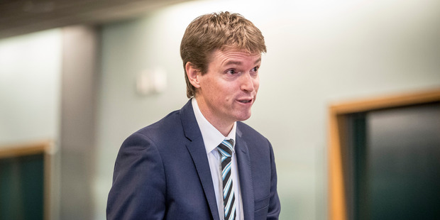 An accountant turned politician turned defamation lawyer, Colin Craig is representing himself in court. Photo / Michael Craig