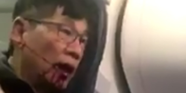 The new regulation comes a month after a passenger was dragged violently off a United Airlines flight. Photo / Twitter, Kaylyn Davis