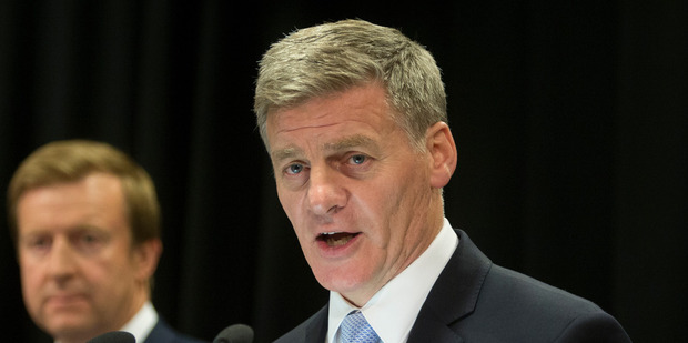 Prime Minister Bill English says he wont be taking a position on what President Trump should do with intelligence in his own system. Photo/Mark Mitchell