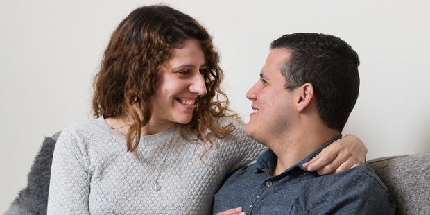Gonzalo Rivera Pavon and his girlfriend Melanie Bachi. Photo / Brett Phibbs