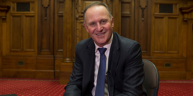 John Key's latest motor is a Bentley what? Photo / Mark Mitchell
