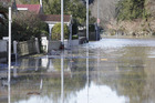 Houses in Whanganui's Anzac Pde were flooded in June 2015. PHOTO/ FILE