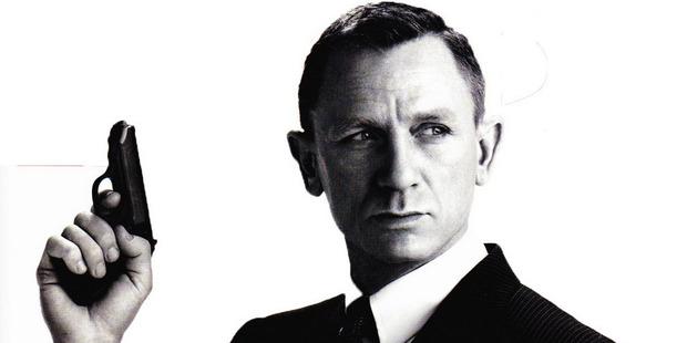 Daniel Craig's Bond carries on the super-spy's white, sexist ways. Photo / Supplied