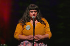 Comedian Angella Dravid cracks it at the 2017 International Comedy Festival. Photo / Supplied
