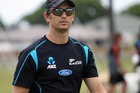 HBT133617-11.jpg Bowling coach Shane Bond. New Zealand Black Caps, net practice at Nelson Park, Napier ahead of the one day International (ODI) day nighter at McLean Park against the West Indies. 2nd