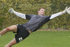 Calm keeper: Mark Paston during one of his numerous training sessions at Napier's Park Island. Photo/File
