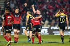 From the final statistics in terms of possession, territory and line breaks, it was clear the Crusaders were the better team on the night. Photo / Photosport