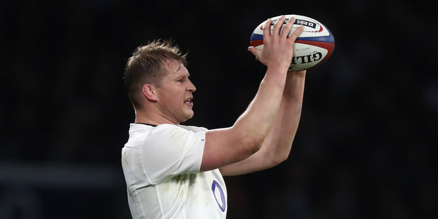 New Zealand born rugby player Dylan Hartley of England. PHOTO GETTY