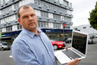 Jaco van Rensburg has set up a new IT company in Whangarei. PHOTO/JOHN STONE