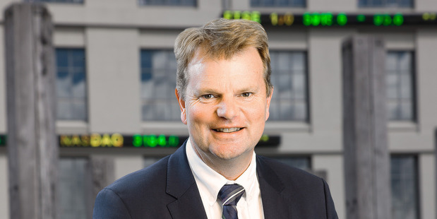 Mark Peterson, chief executive of NZX.