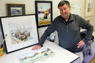 Artist Gavin Smith will feature 45 watercolour paintings in his exhibition at Sarnia Park on Saturday and Sunday.