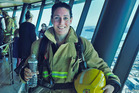 Hannah-Marie Weston, of Mount Maunganui, was the second quickest woman in the Skytower fire fighter's stair challenge this weekend.