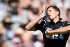 Mitchell Santner continued his bowling form from the opening match against Ireland.