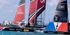 Watch: Watch: Collision between Ben Ainslie Racing and Team New Zealand