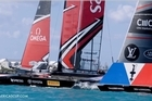 New video has been released of the collision between Ben Ainslie Racing and Team New Zealand. YouTube / America's Cup