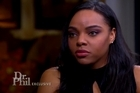 Aaron Hernandez's fiancee has responded to revelations he had a secret gay lover in prison and how she told their daughter her father had died. YouTube / The Dr. Phil Show