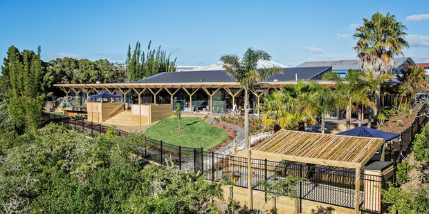 The state-of-the-art early childhood centre at 149 Cascades Rd, Pakuranga. Photo / Supplied