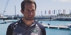 Watch: Watch: Ben Ainslie apologises to Team NZ for yesterday's collision