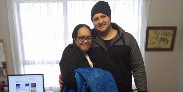 Ioane made a poignant plea online for the return of the blanket. Photo / The Westport News