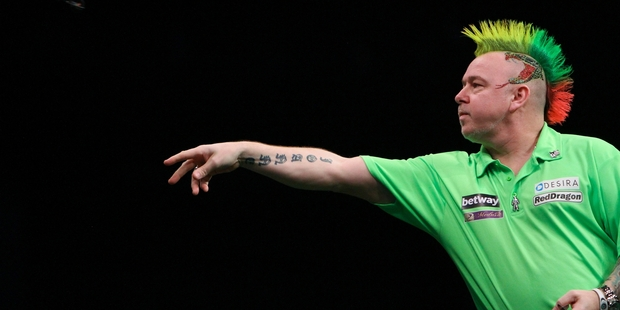"""Peter """"Snakebite"""" Wright is one of the best darts players in the world."""