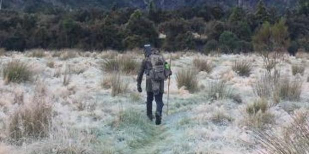 Hans Christian Tommarck went hunting by himself on May 12. Photo / Police