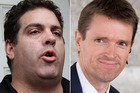 Cameron Slater, left, and Colin Craig. Photos / File