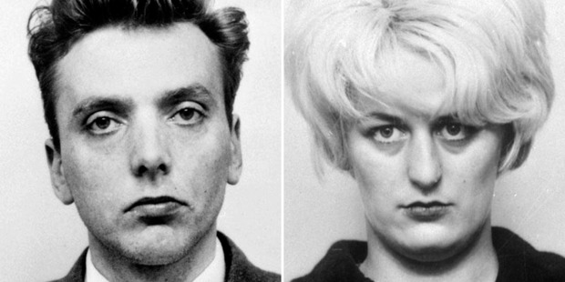 Ian Brady and Myra Hindley died in prison for their crimes. Photo / AP